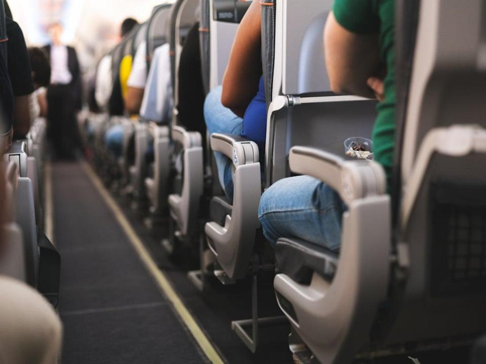 Boarding the aircraft at random can lower the risk of infection (Getty Images/iStockphoto)