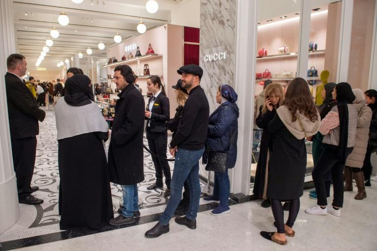 Shoppers couldn't get enough of Gucci last year