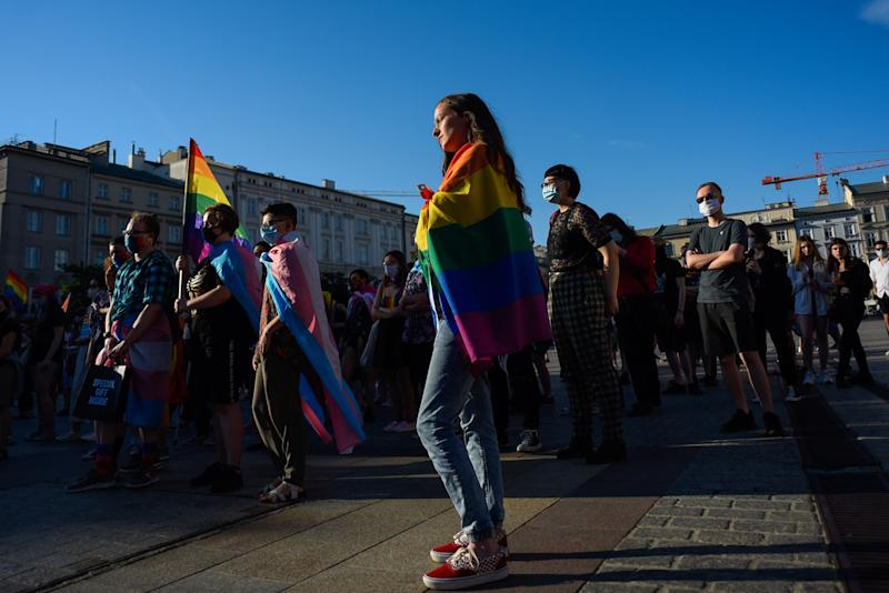 Polish 'LGBT-Free' town weighs risk of losing EU funds