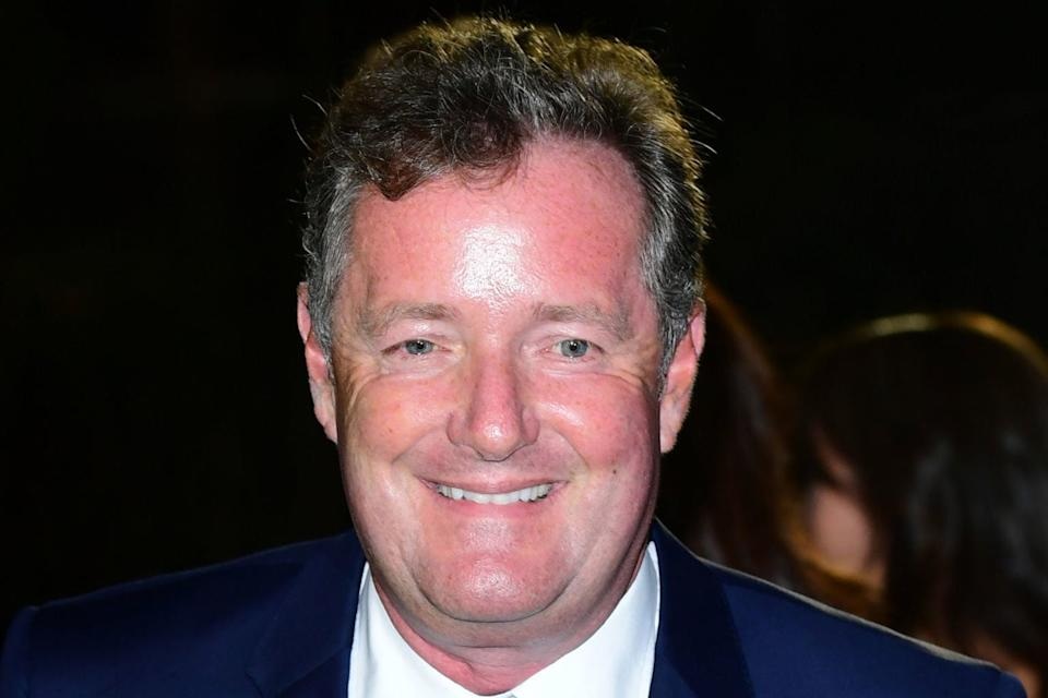 <p>Piers Morgan, who claims he is 'serene' at home</p> (PA)