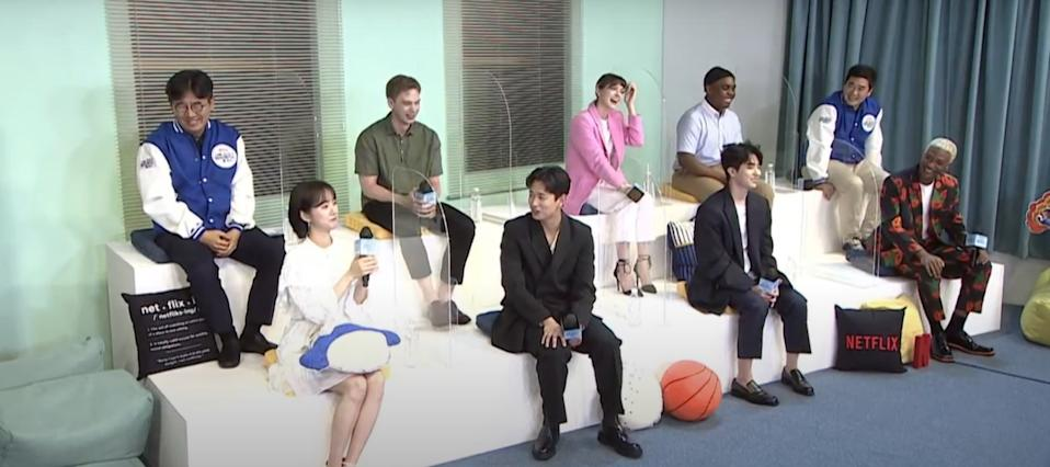 The diverse cast of k-sitcom So Not Worth It talk about the show and their characters in an online Netflix interview