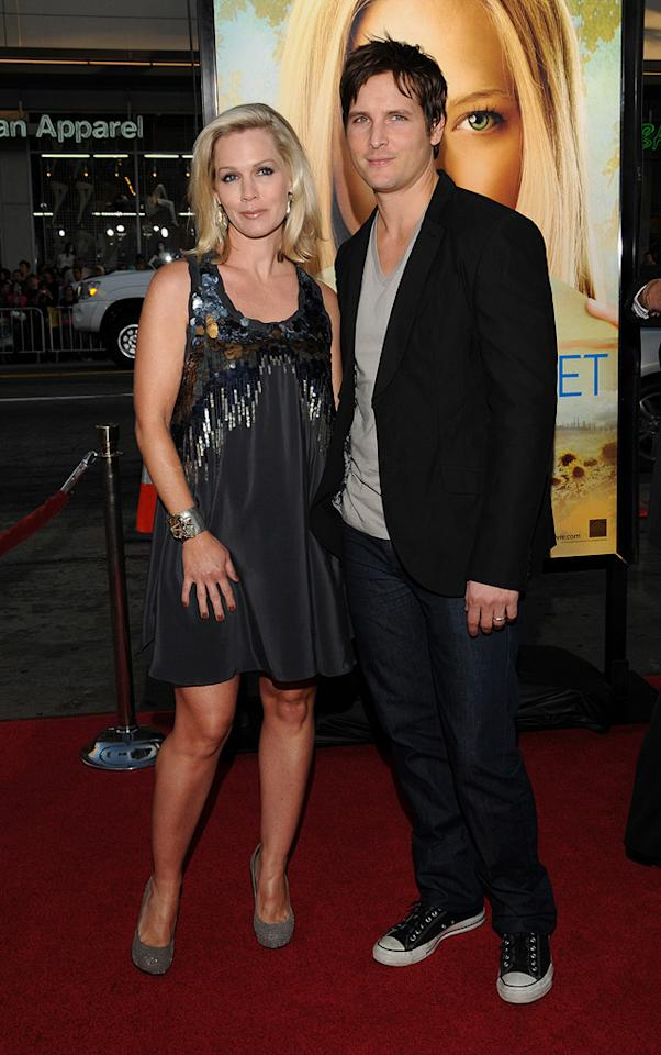 """<a href=""""http://movies.yahoo.com/movie/contributor/1800164344"""">Jennie Garth</a> and <a href=""""http://movies.yahoo.com/movie/contributor/1800018788"""">Peter Facinelli</a> at the Los Angeles premiere of <a href=""""http://movies.yahoo.com/movie/1810089734/info"""">Letters to Juliet</a> - 05/11/2010"""