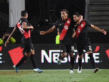 Luis Abram scores late winner as Peru take revenge of Copa America final defeat with victory over Brazil in friendly