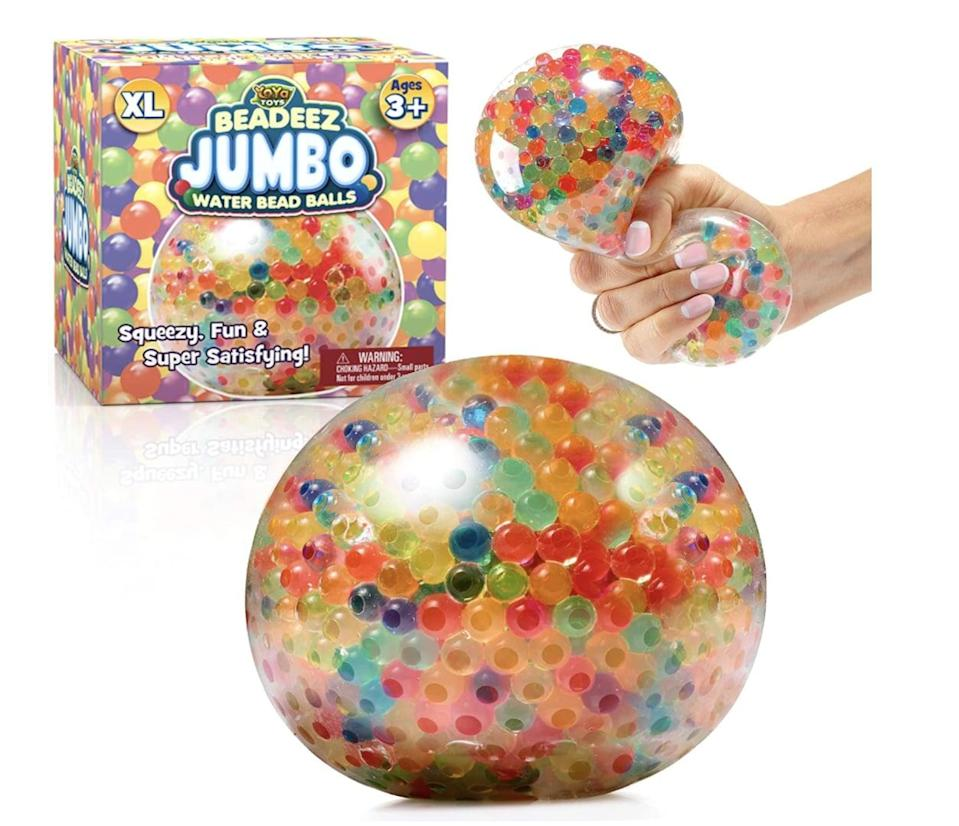 <p>Who says <span>Squishy Stress Balls</span> ($16) are only for kids?</p>