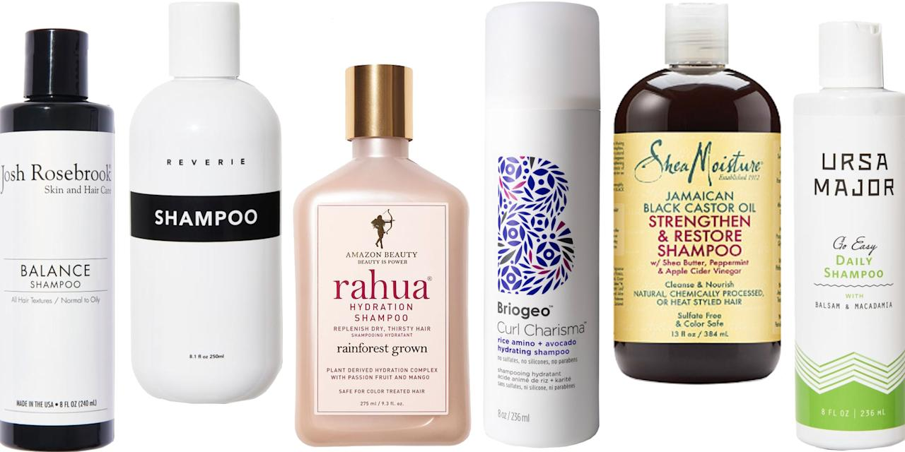 <p>Shampoos can claim they're made with things that sounds really holistic—willow bark, mint, and oat milk—but that doesn't mean the formula isn't packed with harsh chemicals. And when we do use a super-clean hair shampoo, the formula is often lacking: without sulfates and other chemicals, natural shampoos can leave hair feeling limp.  Luckily, natural and organic shampoos have come a long way, and the latest formulas cater to all hair types: from dry curls to oily, dyed, and even thinning hair. Here, our 12 favorite natural and organic shampoos to make your hair routine a little more green.</p>