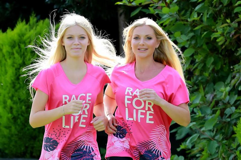 Britain's Got Talent stars Honey and Sammy het in training for the Race for Life: Southern News & Pictures (SNAP)