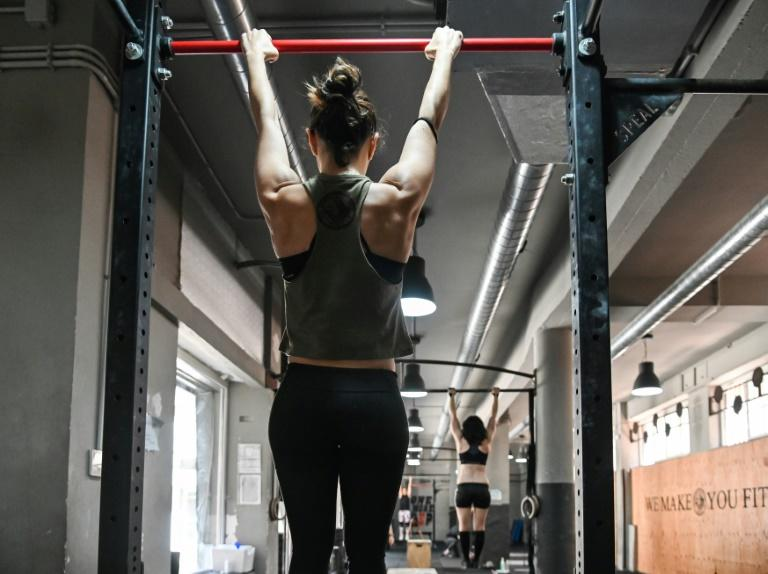 Gyms in Italy began opening Monday, a week after bars and restaurants