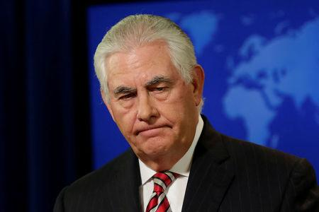 Tillerson says talks with North Korea may be close, notes 'restraint'