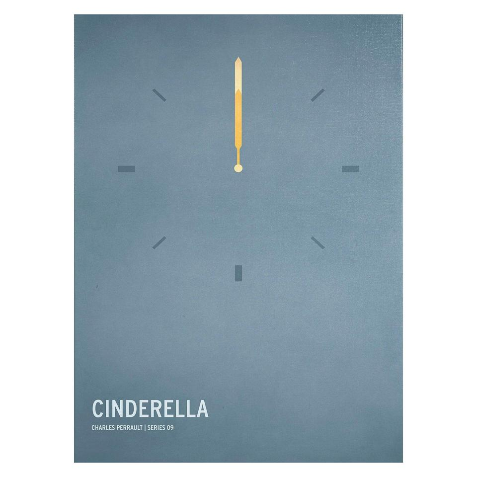 <p>The <span><strong>Cinderella</strong> by Christian Jackson Wall Print</span> ($50) showcases a contemporary take on the fairytale.</p>