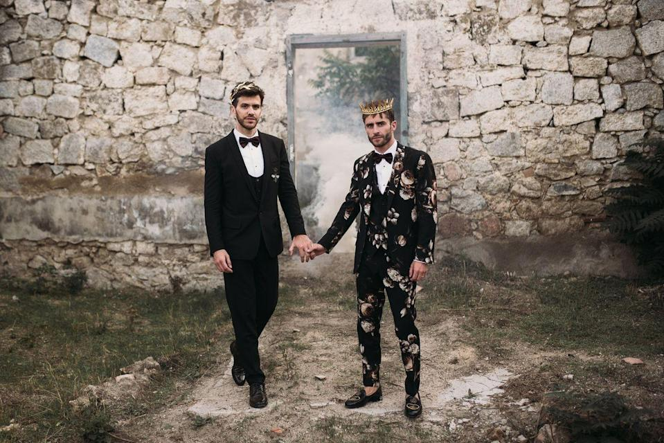 "<p>María José and Xavi, otherwise known as wedding photographers La Dichosa, are one of the most in-demand duos in the industry.</p><p>Having shot weddings for the likes of singer Leona Lewis in Tuscany, Italy and fashion influencer <a href=""https://www.instagram.com/bettinalooney/"" rel=""nofollow noopener"" target=""_blank"" data-ylk=""slk:Bettina Looney"" class=""link rapid-noclick-resp"">Bettina Looney</a> in Capetown, South Africa (yes, the epic one with the <a href=""https://www.instagram.com/p/B86PeTGp9gA/"" rel=""nofollow noopener"" target=""_blank"" data-ylk=""slk:colourful maxi dress-clad bridesmaids"" class=""link rapid-noclick-resp"">colourful maxi dress-clad bridesmaids</a>), La Dichosa blend the worlds of fashion and weddings together seamlessly. The pair have been together as a romantic couple for over 11 years and currently reside in Barcelona, Spain with their dog Chancho.</p><p>'We are wedding photographers because it gathers everything we love: people, fashion, decoration, flowers, architecture and of course, love,' tells ELLE UK from Panama where, yes, they're are shooting a destination wedding.</p><p>'We adore traveling all over the world capturing the love stories with an editorial and fashion touch.'</p><p><strong>Price</strong>: On Request</p><p><strong>Find La Dichosa on Instagram <a href=""https://www.instagram.com/ladichosa/"" rel=""nofollow noopener"" target=""_blank"" data-ylk=""slk:here"" class=""link rapid-noclick-resp"">here</a>.</strong></p><p><a class=""link rapid-noclick-resp"" href=""http://ladichosafotografia.com/contacto/"" rel=""nofollow noopener"" target=""_blank"" data-ylk=""slk:BOOK NOW"">BOOK NOW</a> </p>"