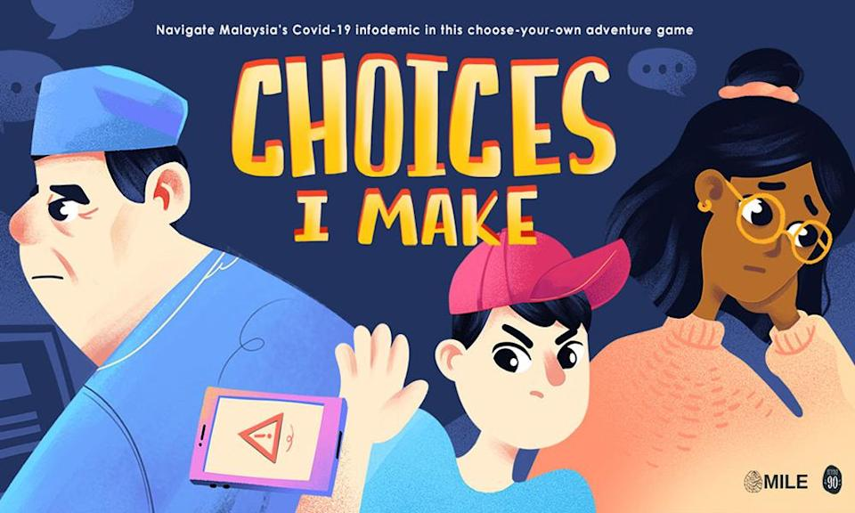 'Choices I Make' - group launches browser game to navigate Covid-19 infodemic
