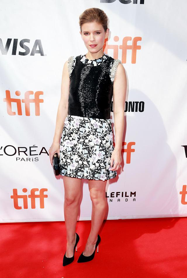 "<p><a href=""https://www.yahoo.com/movies/tagged/kate-mara"" data-ylk=""slk:Kate Mara"" class=""link rapid-noclick-resp"">Kate Mara</a> at the <a href=""https://www.yahoo.com/movies/tagged/toronto-film-festival"" data-ylk=""slk:2017 Toronto International Film Festival"" class=""link rapid-noclick-resp"">2017 Toronto International Film Festival</a> for <a href=""http://variety.com/2017/film/reviews/chappaquiddick-review-toronto-1202553436/"" rel=""nofollow noopener"" target=""_blank"" data-ylk=""slk:Chappaquiddick"" class=""link rapid-noclick-resp""><em>Chappaquiddick</em></a>, on Sept. 10 (Photo: Rich Fury/Getty Images)<br><br></p>"