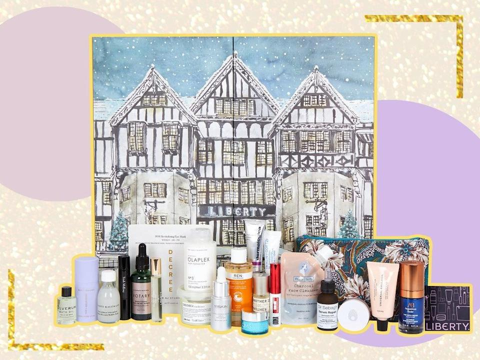 Liberty first launched its beauty calendar in 2014 and it's now the brand's fastest-selling product  (iStock/The Independent)