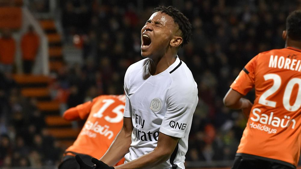 Christopher Nkunku Lorient PSG Ligue 1 12032017