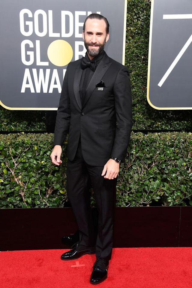 <p><em>The</em> <em>Handmaid's Tale</em> actor attends the 75th Annual Golden Globe Awards at the Beverly Hilton Hotel in Beverly Hills, Calif., on Jan. 7, 2018. (Photo by Frazer Harrison/Getty Images) </p>