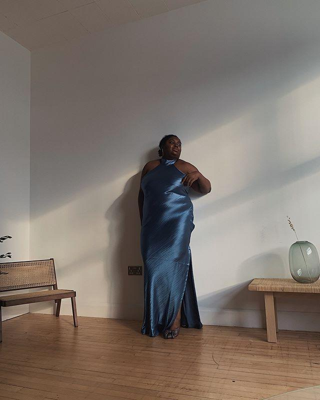 "<p>Can you go wrong with a silky floor length dress? I don't think you can and I'm not just saying this because this photo is of me. When it comes to New Year's sometimes the only option is to go all out— even if you're staying at home this year.</p><p><a href=""https://www.instagram.com/p/B0_qRCHgaYE/?utm_source=ig_embed&utm_campaign=loading"" rel=""nofollow noopener"" target=""_blank"" data-ylk=""slk:See the original post on Instagram"" class=""link rapid-noclick-resp"">See the original post on Instagram</a></p>"