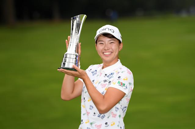 Japan's Hinako Shibuno had never played outside of her home country before this week. Thanks to a clutch birdie on her final hole, the 20-year-old is now a major champion. (Ross Kinnaird/Getty Images)