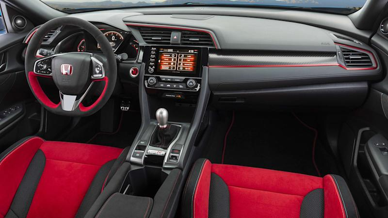 2020 Honda Civic Type R interior