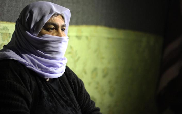 Bahara spent five months in Raqqa, Syria at a slave market house where Yazidi women were bought and solve by ISIS fighters. She saw and heard it all. (Photo: Ash Gallagher for Yahoo News)
