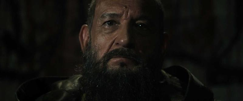 Ben Kingsley as the Mandarin in 'Iron Man 3' (credit: Marvel)