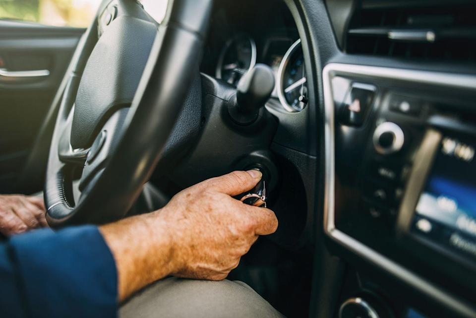 <p>If you're idling in your car for more than 2 minutes, turn off your engine. That way, your car is only releasing emissions while your driving.</p>