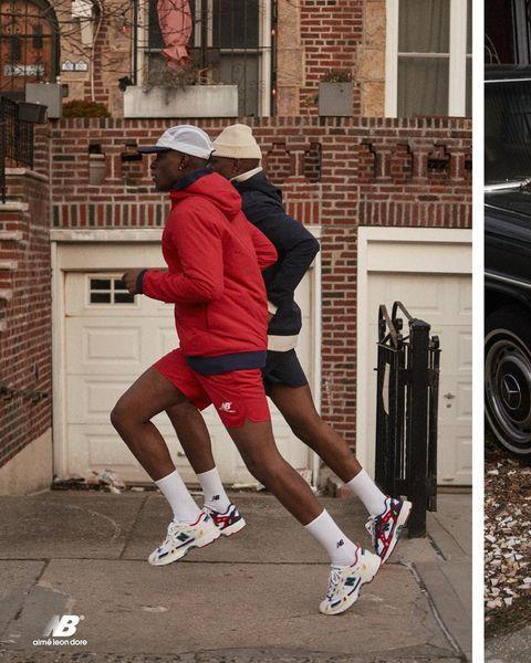 """<p>Powerhouse collaborations with New Balance aside, Aimé Leon Dore has become a go-to for posh, vintage-inspired athletic apparel and lounge-worthy pieces.</p><p><a href=""""https://www.instagram.com/p/B9hNDQ0nI16/"""" rel=""""nofollow noopener"""" target=""""_blank"""" data-ylk=""""slk:See the original post on Instagram"""" class=""""link rapid-noclick-resp"""">See the original post on Instagram</a></p>"""