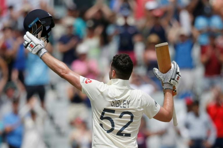 England's Dom Sibley scored his first Test century against South Africa in Cape Town