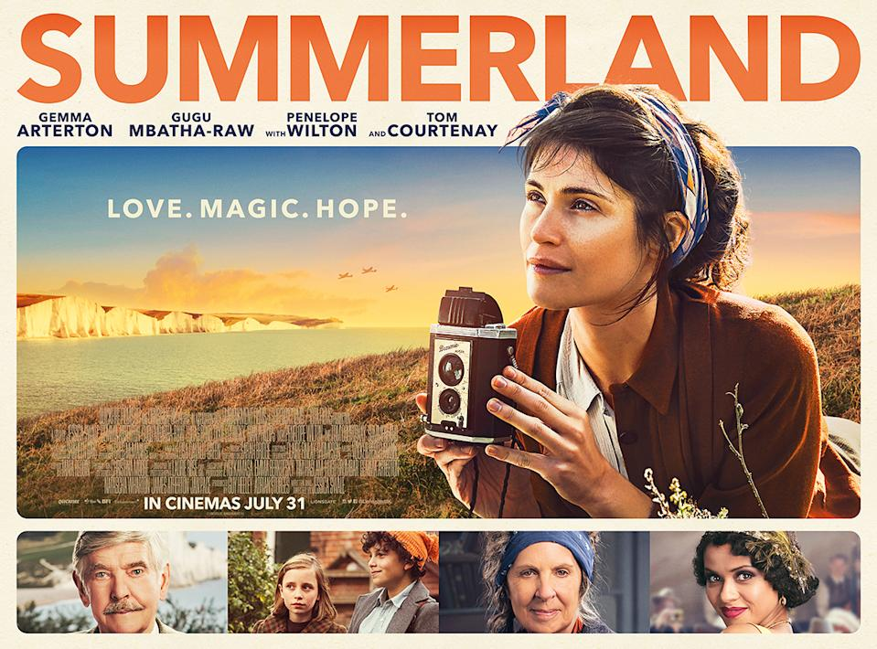 The UK poster for <i>Summerland</i> (Lionsgate)