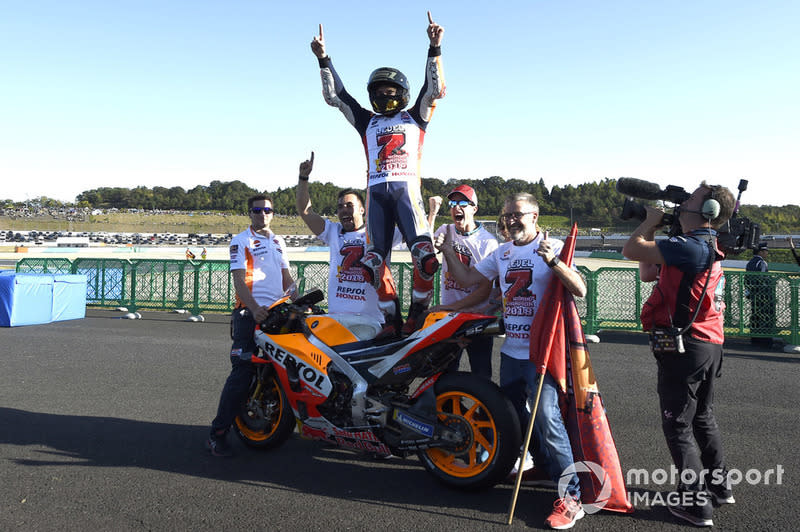 """2018 - Marc Marquez, Honda<span class=""""copyright"""">Gold and Goose / Motorsport Images</span>"""