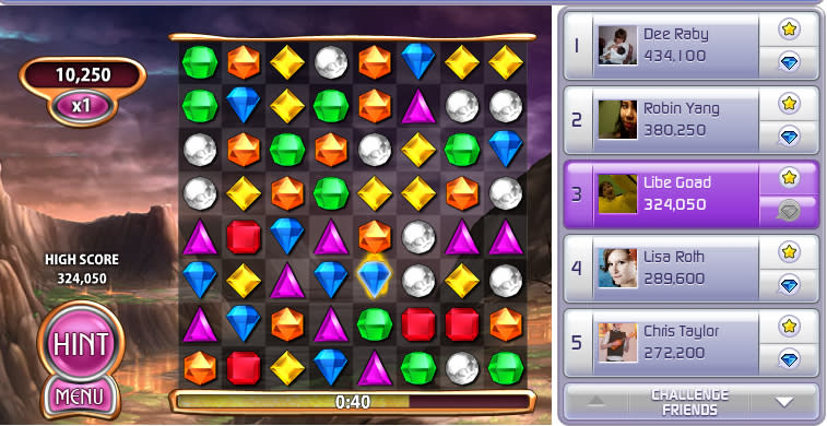 bejeweled blitz game of the year