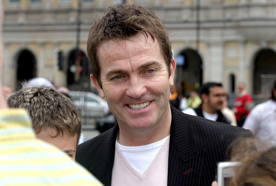 Bradley Walsh during Make A Wish -Photocall at Trafalgar Square in London, Great Britain. (Photo by Ferdaus Shamim/WireImage)