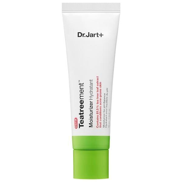 <p>If you want a lightweight, everyday moisturizer, go with this <span>Dr. Jart Teatreement Moisturizer</span> ($32).</p>