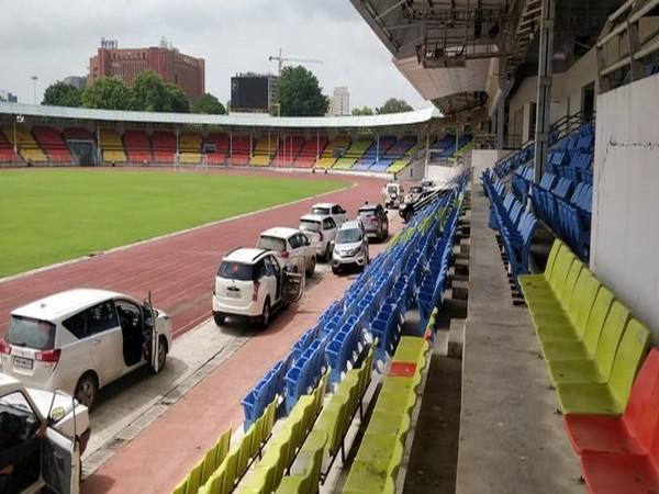 VVIP vehicles parked on race track in Pune stadium sparks row [File Photo/ANI]