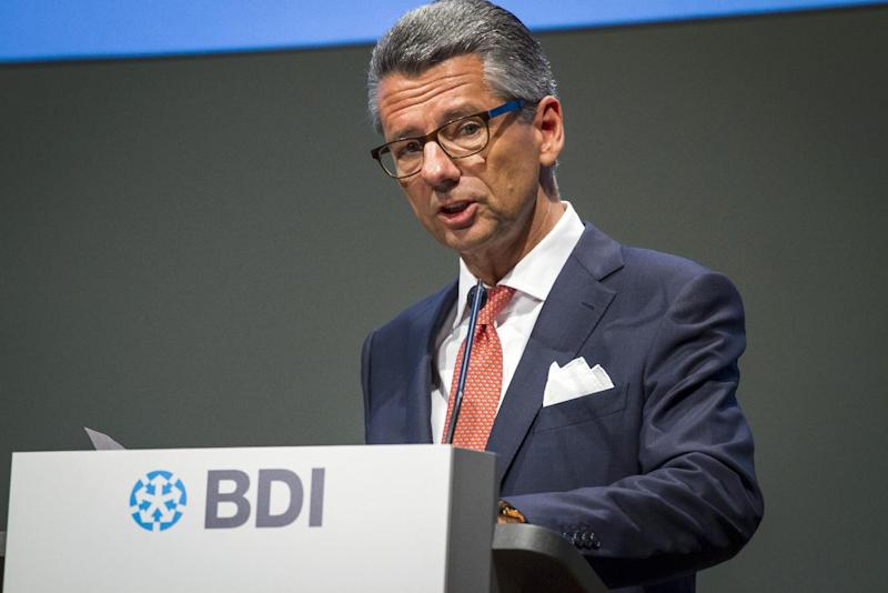 President of the Federation of German Industries (BDI) Ulrich Grillo urged the country to push for more immigration to remain competitive and should welcome more asylum seekers (AFP Photo/Odd Andersen)