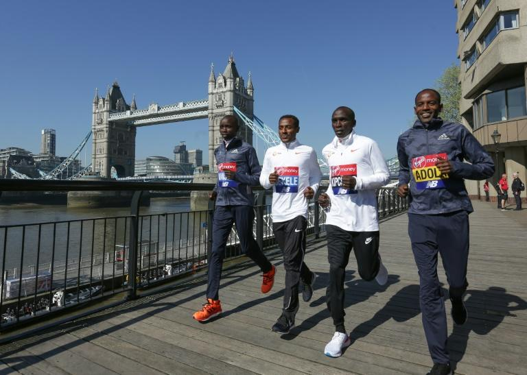 Kipchoge, Bekele coy on London Marathon world record bid