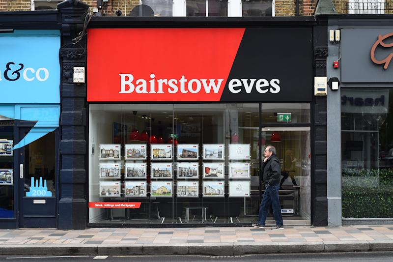 A view of a Barstow eves branch in London.