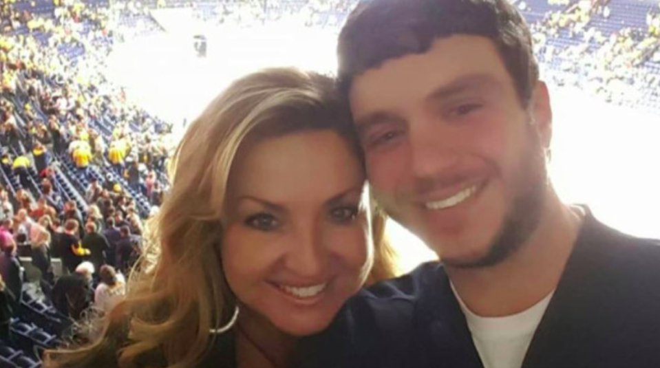 <p>Sonny Melton, a registered nurse at the Henry County Medical Centre in Paris, Tennessee, died shielding his wife, Dr Heather Melton, an orthopaedic surgeon who was with him when shots were fired, from the bullets. (Sonny Melton) </p>