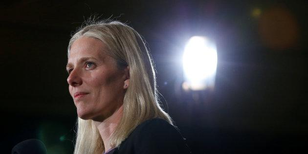Environment Minister Catherine McKenna takes part in a news conference in Ottawa on Dec. 9, 2016.