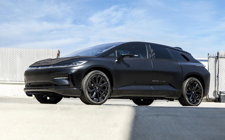 Record Breaking Faraday Future Prototype Evs Are Up For Auction
