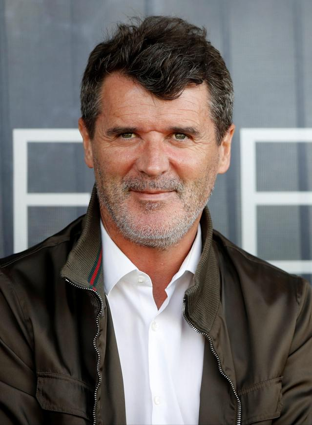 Soccer Football - UEFA European Under-17 Championship - Group C - Republic of Ireland v Denmark - St. George's Park Stadium, Burton-upon-Trent, Britain - May 8, 2018 Republic of Ireland assistant manager Roy Keane in the stands Action Images via Reuters/Carl Recine