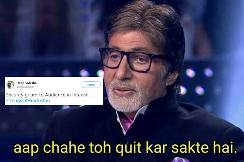 Thugs of Hindostan May Be Dull for Audiences, But the Memes it Inspired are Gold