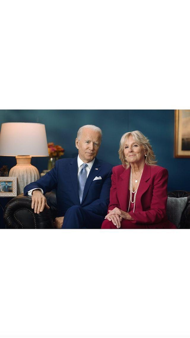 "<p>""Thanksgiving Message from the Biden Family</p><p>Thanksgiving has always been a special time for the Biden family. And while I know this isn't the way many of us hoped to spend the holiday, the small act of staying home is a gift to our fellow Americans.""</p><p><a href=""https://www.instagram.com/p/CIDqIHhBDCI/"" rel=""nofollow noopener"" target=""_blank"" data-ylk=""slk:See the original post on Instagram"" class=""link rapid-noclick-resp"">See the original post on Instagram</a></p>"