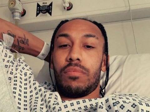 <p>The Arsenal captain has missed the past couple of games through illness</p> (Pierre-Emerick Aubameyang/Instagram)