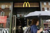 No milkshakes here. McDonald's is the latest firm to be hit with supply chain problems in the UK, where pandemic disruptions are being worsened by Brexit