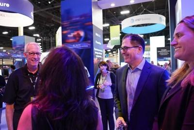 Michael Dell discusses the latest technology trends at VMWorld. Program partner, V5 Systems, showcased its market-ready IoT Connected Bundles at the conference.