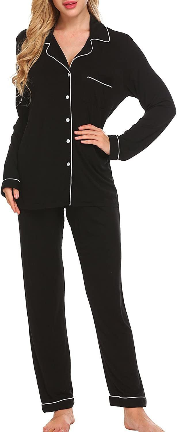 <p>When in doubt, always go for this soft and comfortable <span>Ekouaer Pajama Set</span> ($30-$44).</p>