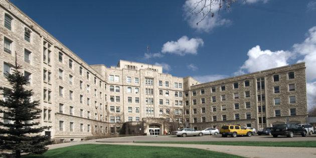The Royal University Hospital on the University of Saskatchewan campus.