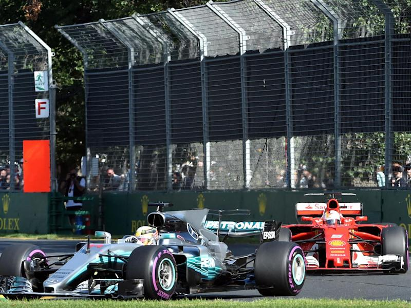 Vettel overhauled Hamilton at the pitstops (Getty)