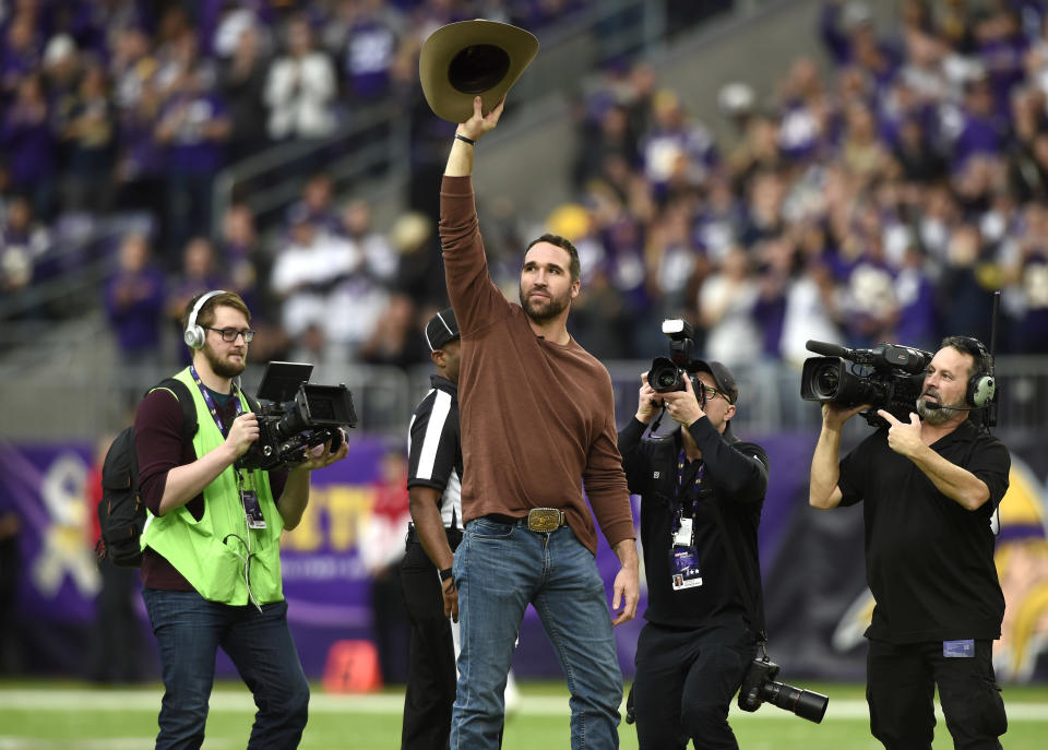 NFL great Jared Allen is following his curling dreams and taking Marc Bulger along with him. (Getty)