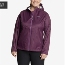 """<p><strong>Eddie Bauer</strong></p><p>eddiebauer.com</p><p><strong>$49.50</strong></p><p><a href=""""https://go.redirectingat.com?id=74968X1596630&url=https%3A%2F%2Fwww.eddiebauer.com%2Fp%2F38989580%2Frain-jackets-for-women&sref=https%3A%2F%2Fwww.prevention.com%2Ffitness%2Fworkout-clothes-gear%2Fg34943640%2Fplus-size-workout-clothes%2F"""" rel=""""nofollow noopener"""" target=""""_blank"""" data-ylk=""""slk:Shop Now"""" class=""""link rapid-noclick-resp"""">Shop Now</a></p><p>Don't let rain interrupt your outdoor workouts! This jacket is waterproof and breathable at the same time. It's also easy to take with you <a href=""""https://www.prevention.com/fitness/workout-clothes-gear/g19791835/best-hiking-shoes-for-women/"""" rel=""""nofollow noopener"""" target=""""_blank"""" data-ylk=""""slk:on a hike"""" class=""""link rapid-noclick-resp"""">on a hike</a> because it folds down into the right-hand pocket for easy storage.</p>"""